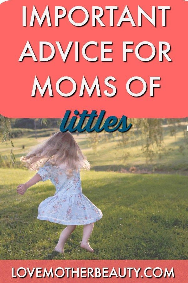 The only advice you need as a new, first time mom.