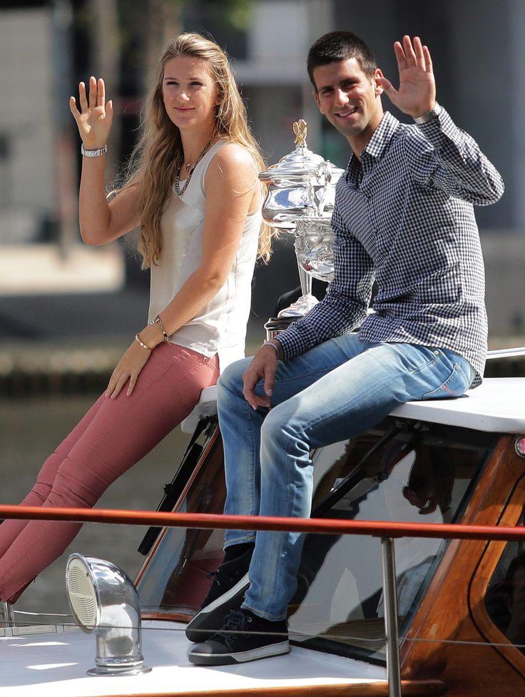 Novak Djokovic, Victoria Azarenka 2 of my fave players