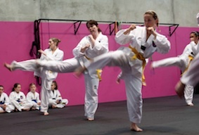 Women's Only Taekwondo & Fitness - WOMEN'S TAEKWONDO