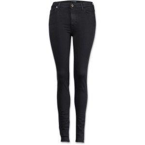7 for all mankind High Waist Skinny Damen Jeans schwarz