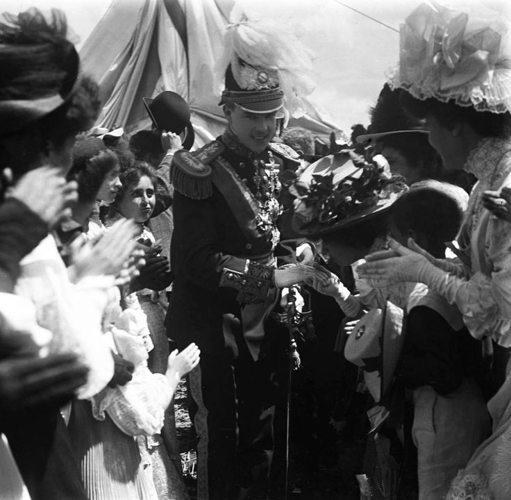 Manuel II of Portugal. Photo by Carlos Alberto Lima. Porto, Portugal, 1908.