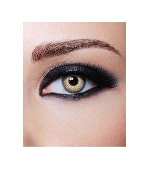 lentille de couleur grise passion. Obtenez des yeux pétillants de beauté. Lentille annuelle.