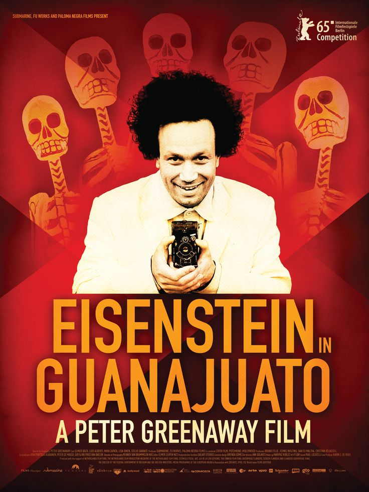 Peter Greenaways New Film Eisenstein In Guanajuato Will Premiere The Competition Section At Berlin On Wednesday February We Have Your First Look