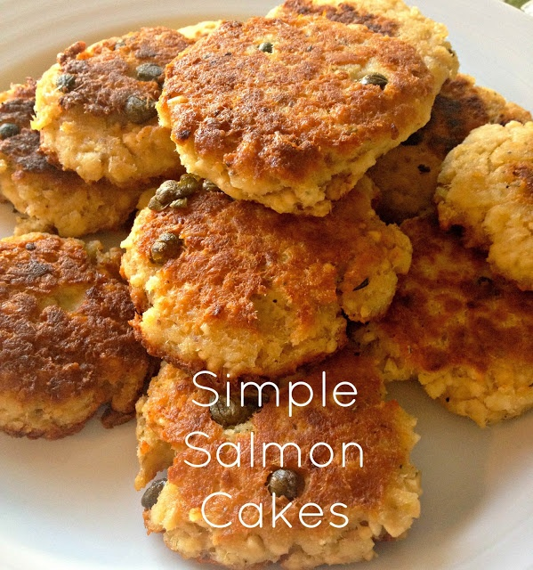 Easy Salmon Cake Recipe: Simple {and Healthy} Salmon Cakes Super Easy Weeknight