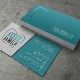 Cartão de Visita Slim - Clean - Ice