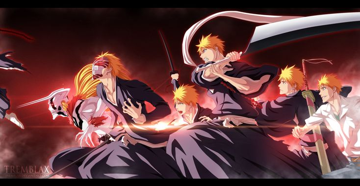 Ichigo All Forms 1254 HD Wallpaper