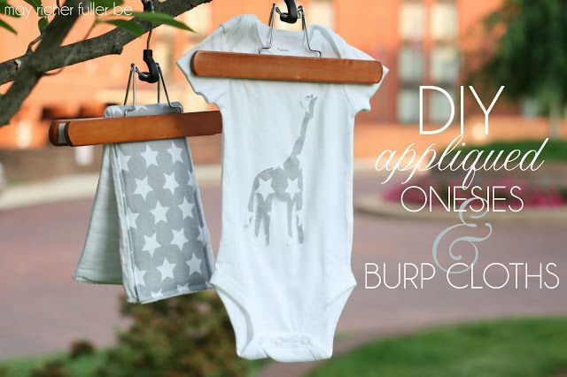 Customized Burp Cloths Tutorial | May Richer Fuller Be                                                                                                                                                                                 More