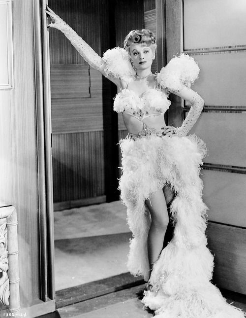 Lucille Ball photographed for Meet the People, 1944: Lucil Ball, Featheri Costumes, Meeting, Lucille Ball, Lucy, Classic Hollywood, People 1944, Movie Costumes, Ball Photographers