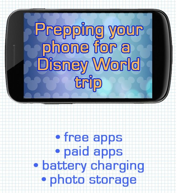 How to get your phone ready for a Disney World trip --- plus saving money calculator