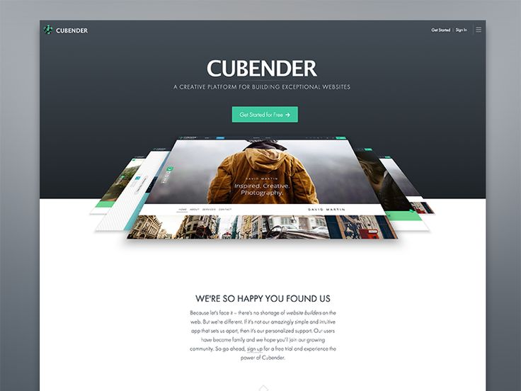 Cubender by Andrew Hamilton