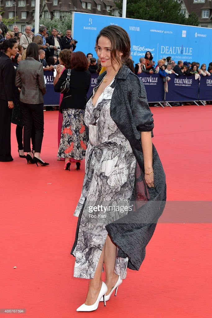 Photo d'actualité : Marie Gillain attends the 41st Deauville American...