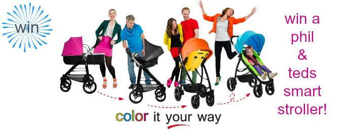 win a phil & teds stroller from feisty, frugal & fabulous!