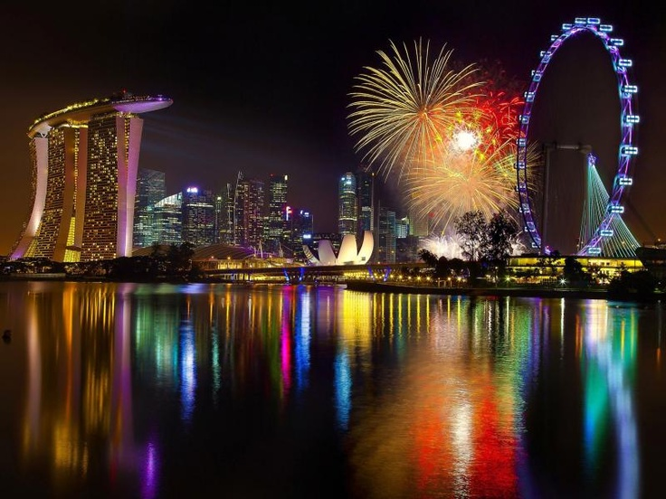 Singapore Flyer is the world's tallest Ferris Wheel at