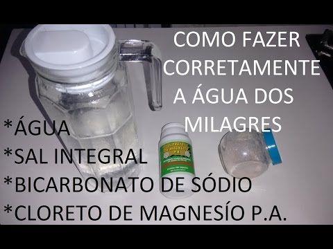 ÁGUA DOS MILAGRES - COMO PREPARAR - 2015 (Alemão) - YouTube