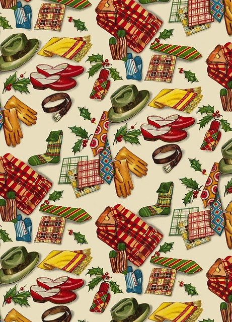 I can honestly say I've never seen any giftwrap quite like it...
