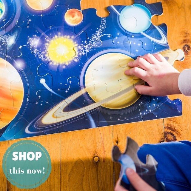 Little monkeys can assemble this beautiful floor puzzle by @scholastic_au Australia to create a beautifully illustrated image of the solar system! A hands-on way for children to learn planet names and constellations and improve critical thinking. SHOP this item as part of ARCHIE'S activity pack by going to our SHOP page (link in bio). #earlylearning #creativekids #preschooler #preschoolerlife #toddler #toddlerlife #toddleractivity #kidscrafts #kidsactivities #montessori #parenting #sahm…