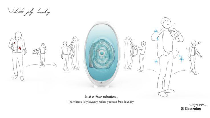 Vibrate jelly laundry - Stage - Visual Development