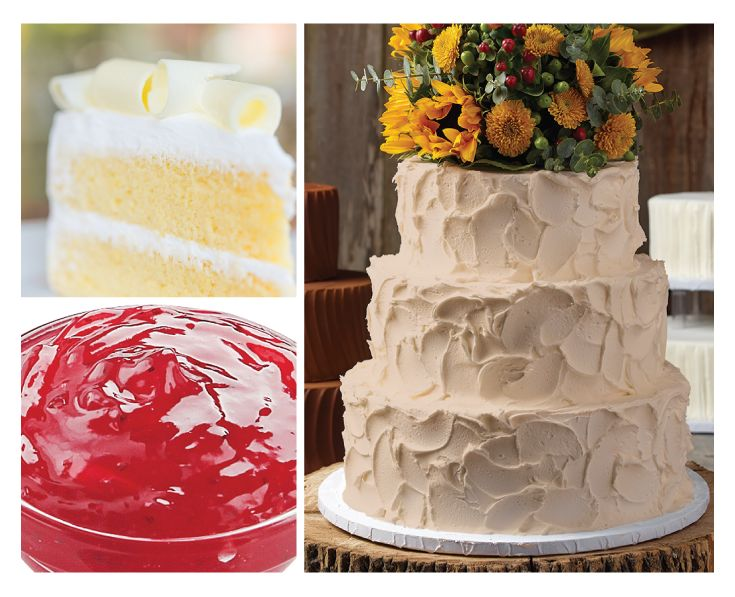 how to choose wedding cake flavors h e b makes customizing your wedding cake easy choose 15602