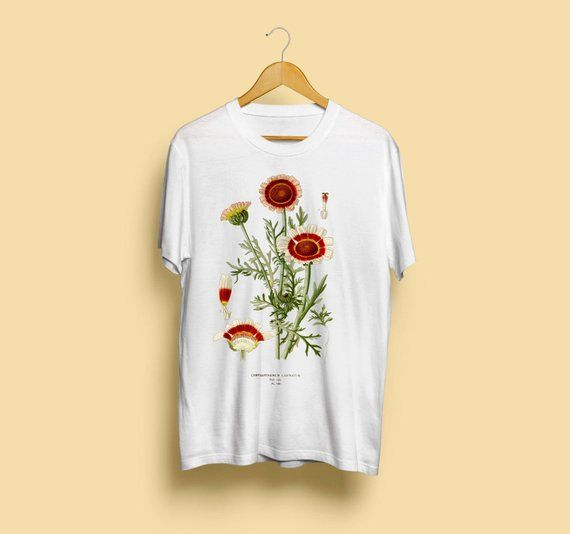 Novemberbirthflower I Found This Really Awesome Etsy Listing At Https Www Etsy Com Uk Listing 518560781 Chrysanthemum Cari Vintage Style Art Shirts T Shirt