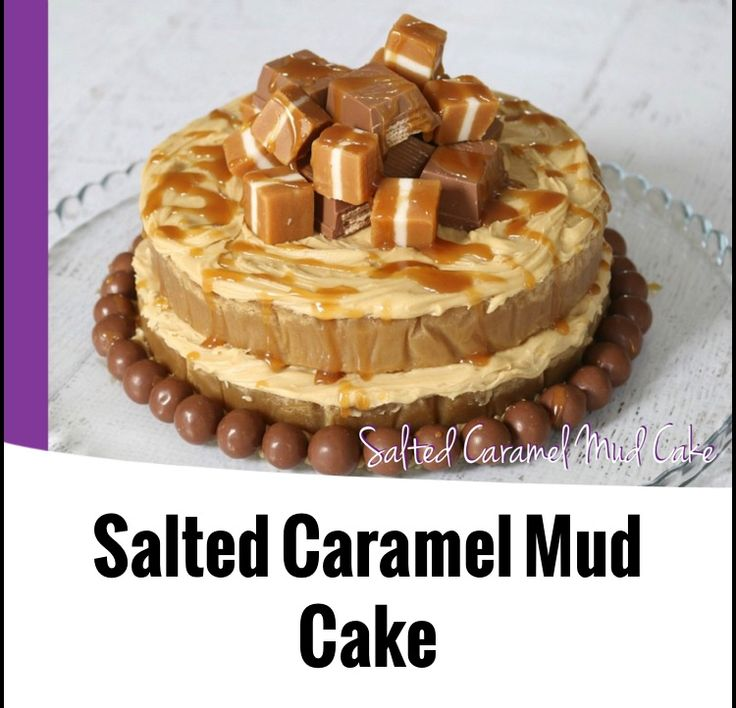 {Thermomix} Salted Caramel Mud Cake