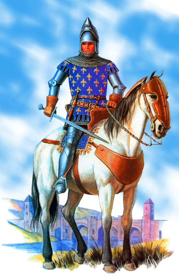 French Knight, Hundred Years War