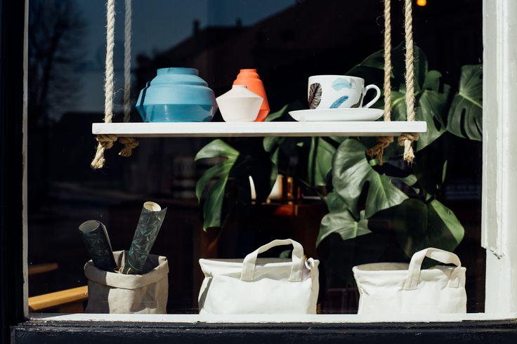 Shop window.