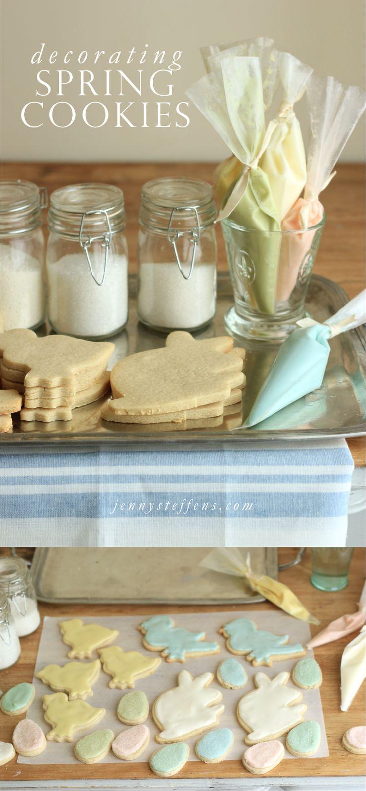 Ostern Cookie Decorating | Neue Zuckerplätzchen-Rezept