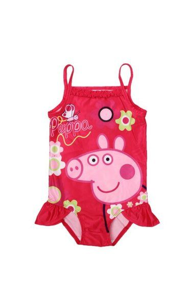 Peppa Pig Bathing Suit Red | peppa pig