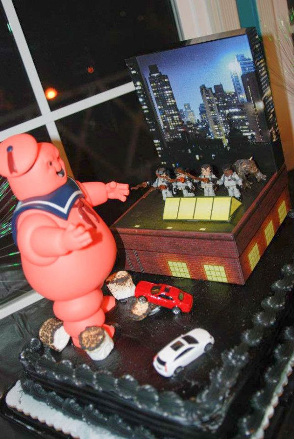 How to throw a Bill Murray party (complete with Ghostbusters cake!)