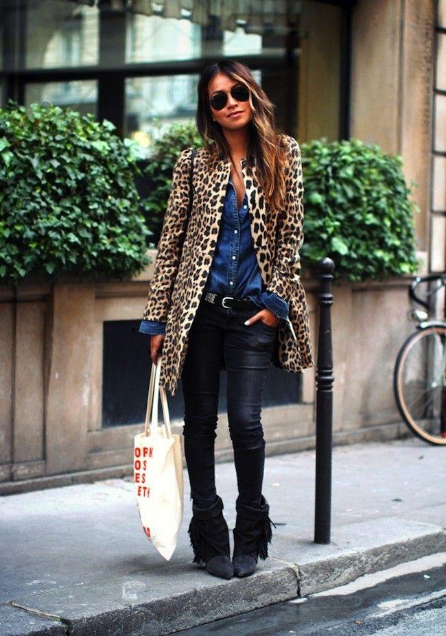 Otro look para ese abrigo de leopardo que nunca me pongo