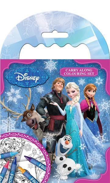 Wholesale Frozen Carry Along Colouring Sets