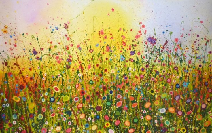 'Feeling groovy' by Yvonne Coomber in an exclusive limited edition of 50 £240 (£400 framed) (pay monthly with Own Art) www.lyndhurstgallery.co.uk