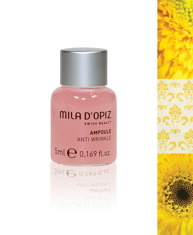 Mila d'Opiz Australia - Concentrate Collection Anti Wrinkle. Stimulates collagen production giving anti-aging effects. Suitable for all skin types.