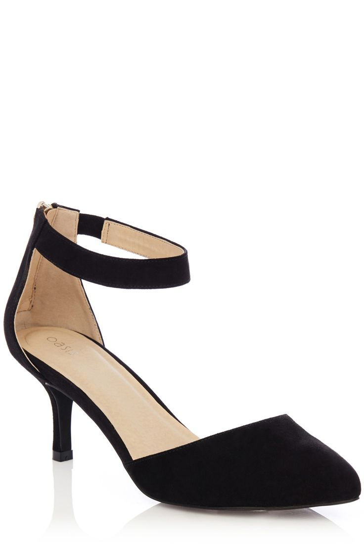 Oasis - Jasmine 2 Part Court Shoes £35.00