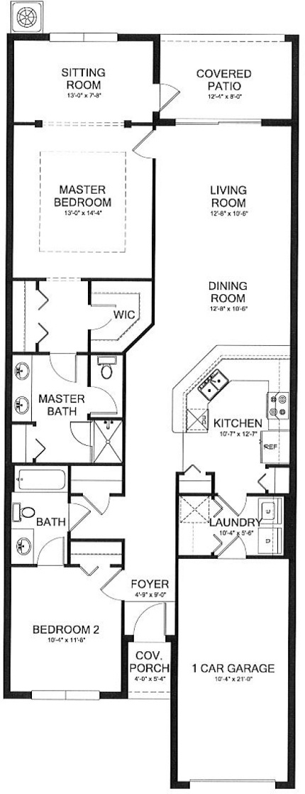 Laurel New Home Plan In Treviso Bay Classic Homes Home