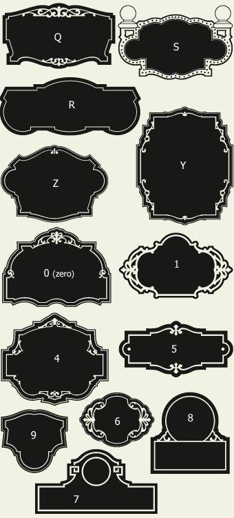 Letterhead Fonts / LHF Broadway Panels 2 / Golden Era Studios Panels NOT FREE