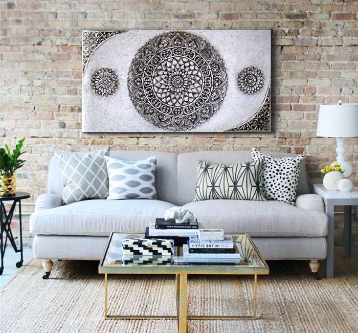 cuadros clasicos para el sofa mira mas modelos en