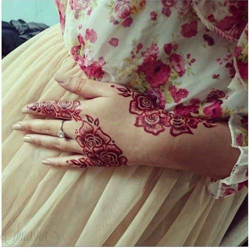 Mehndi Rose Designs For Hands : Images about henna on pinterest mehndi arabic