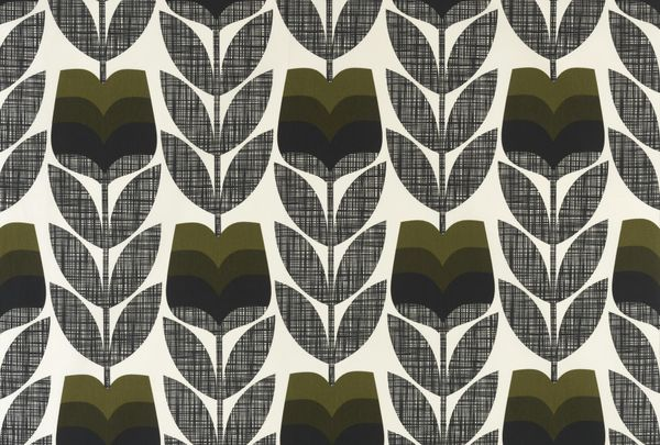 Rosebud Moss Curtains by Orla Kiely – Curtains Made For Free