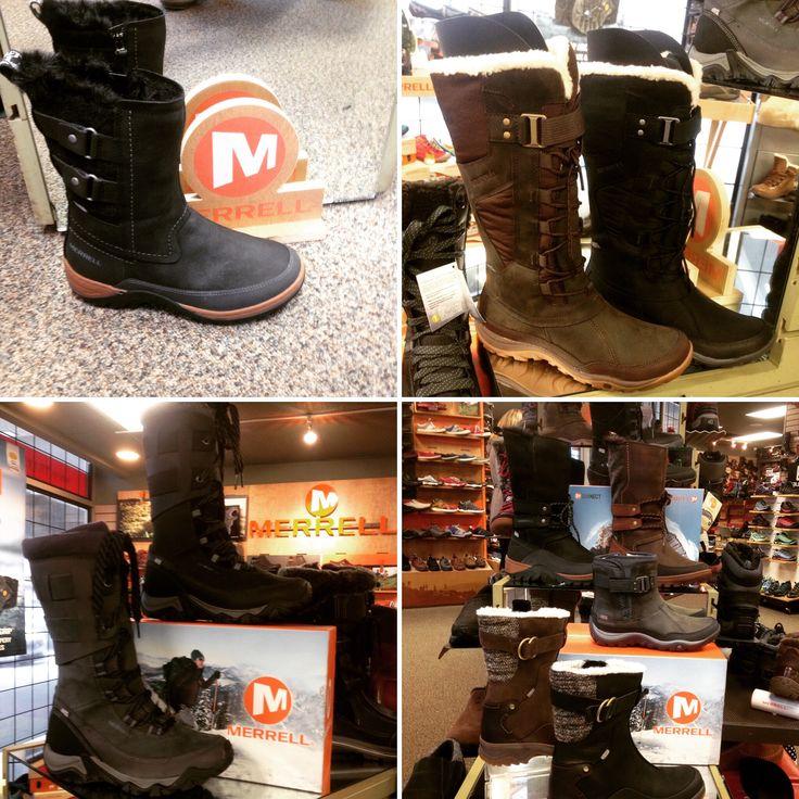#TraxxFootwear #Merrell #winterwear