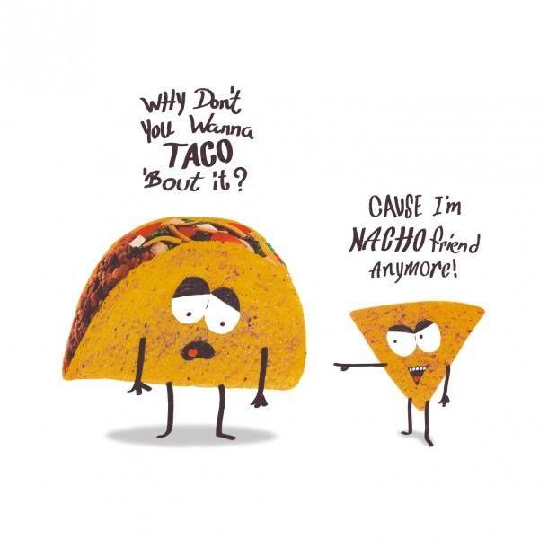 Food jokes are the best type of jokes.