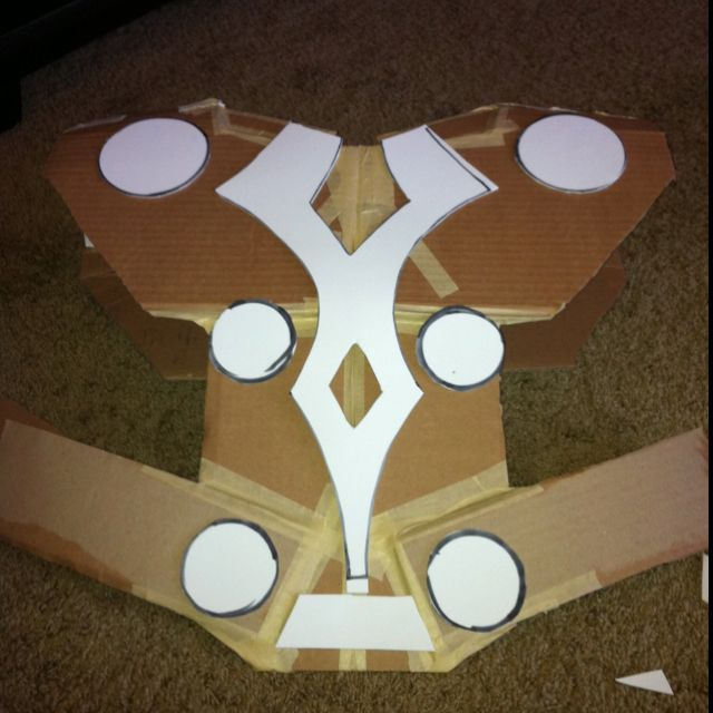 Thor costume armor. Stage 1.