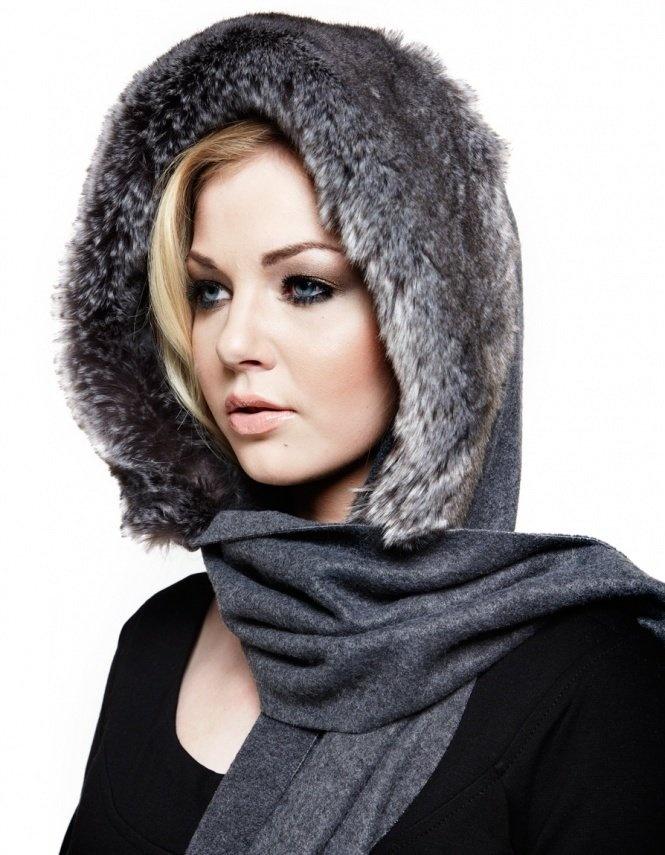 faux fur scarf - Google Search