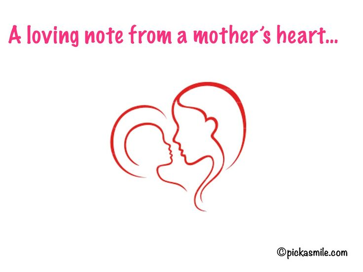 The Sweetest Note from a #mother