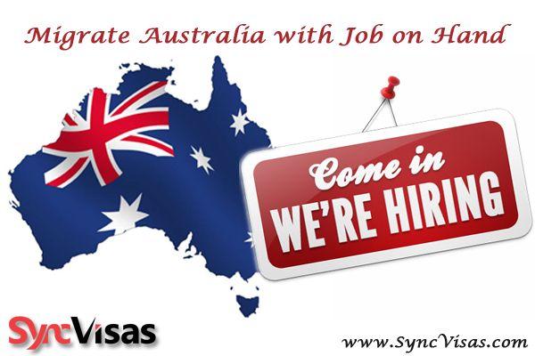 Australia work visa by SyncVisas.com