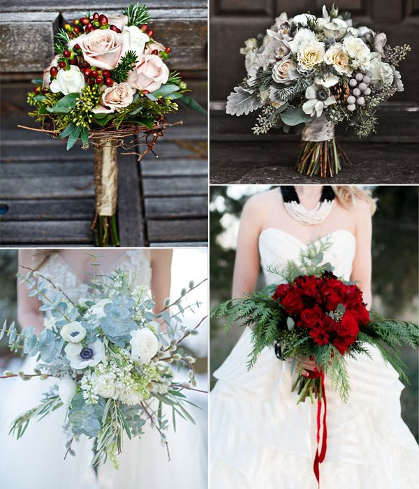 Winter Wedding Flower Ideas: 87 Best Images About Wedding Bouquets On Pinterest