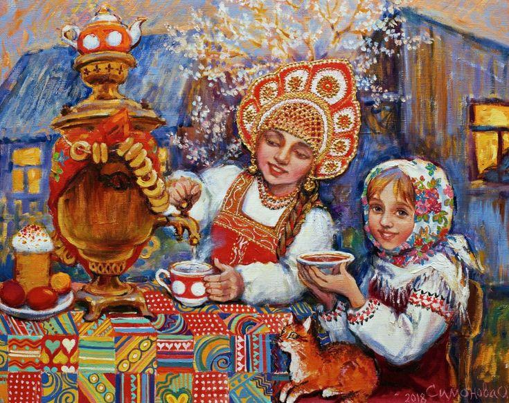 Днем, картинки о чаепитии для детей