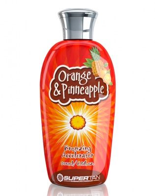 Orange & Pineaple Бронзирующий ускоритель загара с маслом апельсина 200 мл Supertan American Product от Supertan American Product
