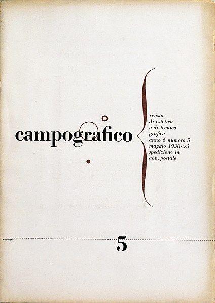Campo Grafico - Nº.5 - Remo Muratore, May 1938