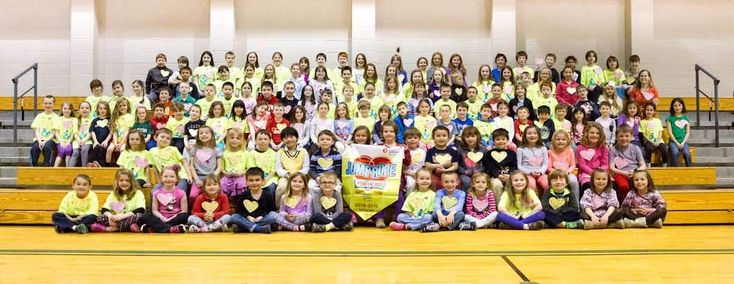 GREENLAND — Central School students raised more than $8,500 for the American Heart Association earlier this school year.Participating in the Jump